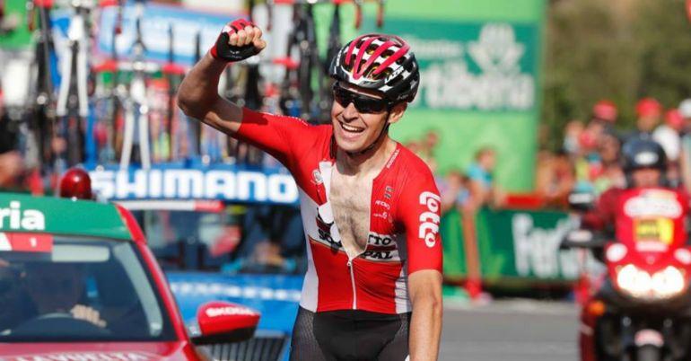 Tomas de Gendt bate Rui Costa na chegada a Gijón — Vuelta
