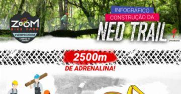 Vídeo - Ned Trail no Zoom Bike Park - Da ideia a construção