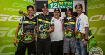 MTB 12 horas 2017 - Quarteto MTB90 conquista bicampeonato com Tinker Juarez