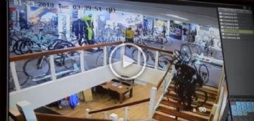 Vídeo - Cerca de 30 Bianchis são roubadas em bike shop holandesa
