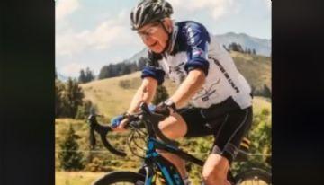 Vídeo - Ex-ciclista profissional de 88 anos ganha e-bike de presente