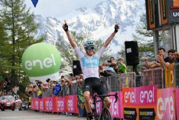 Dados de potência do ataque de 80km de Froome no Giro são apresentados