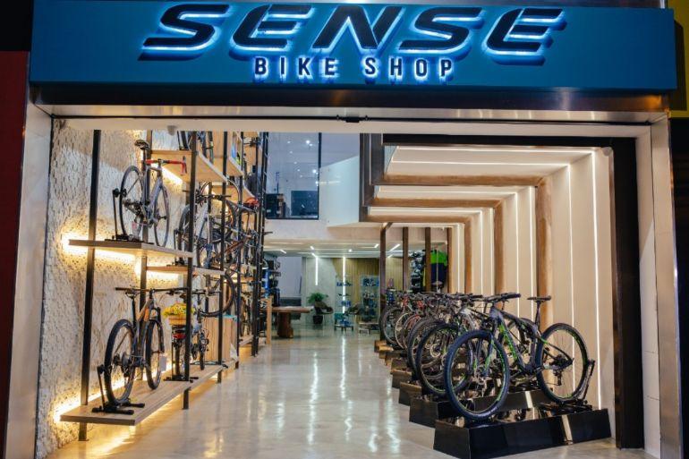 08e02facd Exclusivo - Sense Bike Shop - Primeira loja conceito da Sense chega ...