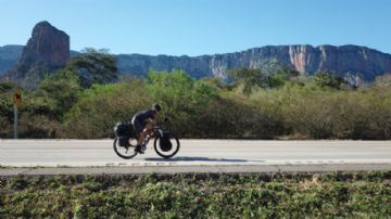 Brasil Ride 2018 - Participante chega à Bahia após pedalar 17 mil quilômetros