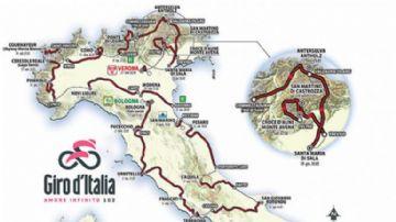 Giro d'Italia 2019 - Divulgação de percurso revela pontos-chave da prova