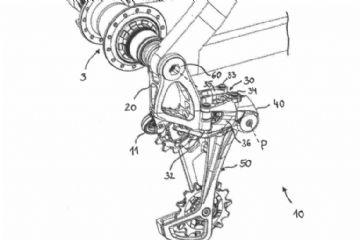 SRAM registra patente de câmbio com amortecimento hidráulico e fixação no eixo