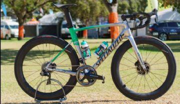 Peter Sagan correu o Down Under Classic com uma bike de alumínio