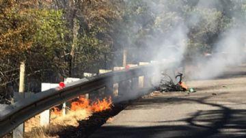 Ciclista de 79 anos escapa de explosão de bateria em Pinarello com motor elétrico adaptado