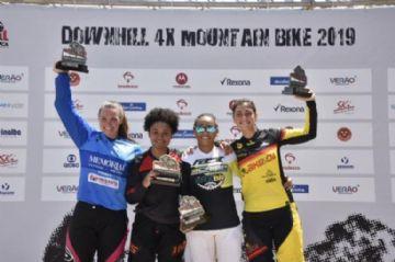 Copa América de Downhill 4X 2019 - Gabriel Giovannini e Julia Alves são campeões em São Roque