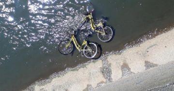 Bicicletas da Yellow são alvos de vandalismo em Belo Horizonte
