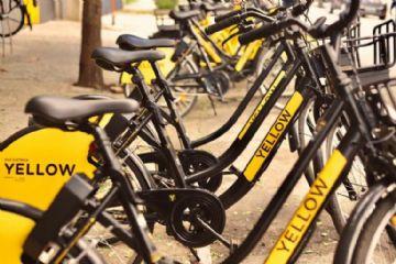 Yellow disponibiliza bicicletas elétricas compartilhadas em São Paulo