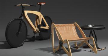 Bike Clandestina - Modelo se transforma em cadeira para evidenciar impostos