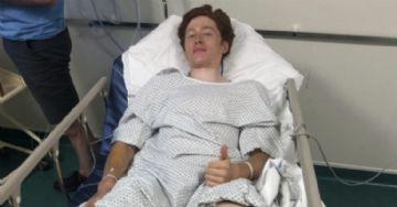 Ciclista da Paris-Roubaix Sub-23 afirma ter se machucado seriamente com disco de freio