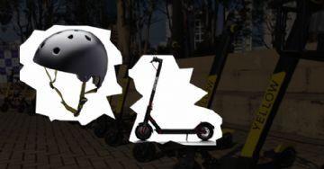 Capacetes de bicicleta podem ser usados com patinete elétrico ?