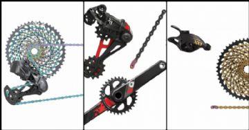 Entendendo - Hierarquia dos grupos SRAM de Mountain Biking