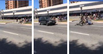 4ª Volta Ciclística de Guarulhos - Vídeo flagra atropelamento em alta velocidade