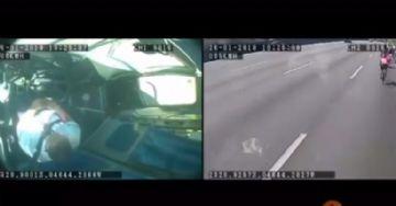 Video - Motorista de ônibus atropela e mata três ciclistas em Janeiro