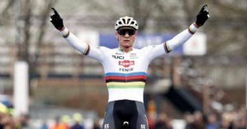 Mathieu van der Poel vence sexto campeonato holandês de cyclo-cross consecutivo