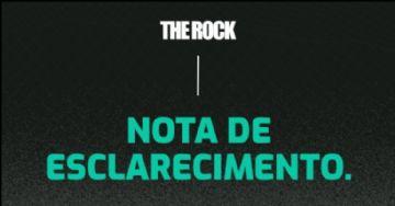 The Rock 2020 #1 - Nota de esclarecimento sobre cancelamento da etapa