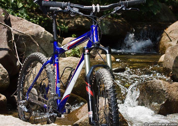 Bikes Usadas Uma das bikes usadas no teste