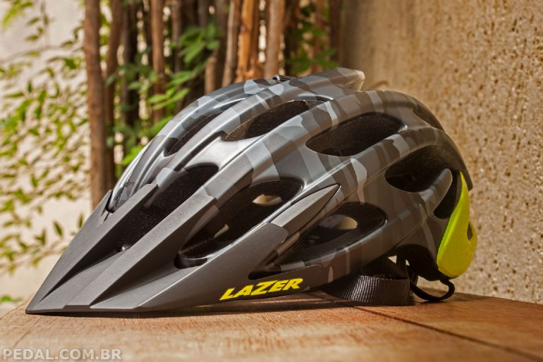 Teste - Capacete Lazer Magma - Pedal ee7a406f15